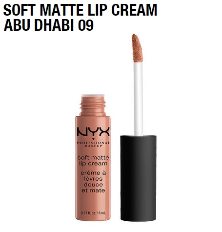 Матовая помада Nyx Soft Matte Lip Cream Abu Dhabi