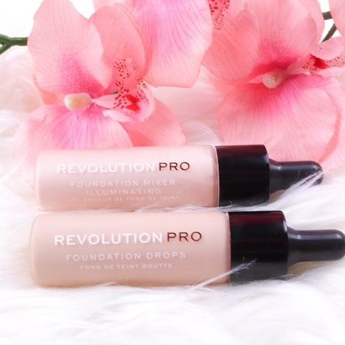 Тональный крем Revolution Pro Foundation Drops - F4 фото 7