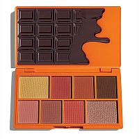 Палетка теней Makeup Revolution Choc Orange Mini Chocolate