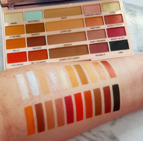 Палетка теней Makeup Revolution X Imogenation The Eyeshadow Palette фото 4