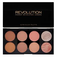 Палетка Makeup Revolution Ultra Blush Palette Hot Spice
