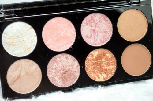 Палетка Makeup Revolution Ultra Pro Blush Palette Golden Sugar фото 3