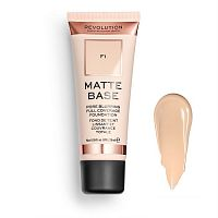 Тональный крем Revolution Matte Base Foundation F1
