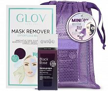 Набор evree mini spa Black Rose & Glov
