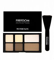 Пудровая палетка Freedom Makeup - Pro Powder Strobe Palette