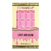 Палетка хайлайтеров Makeup Revolution I Heart Makeup Light and Glow