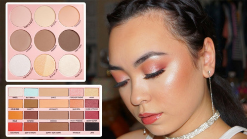 Палетка теней Makeup Revolution X Imogenation The Eyeshadow Palette фото 12