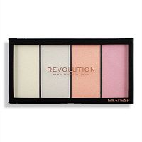 Палетка хайлайтеров Makeup Revolution Reloaded Lustre Lights Cool