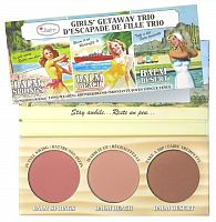 Палетка румян theBalm Cosmetics Girls Getaway Trio