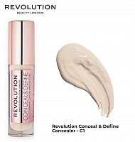 Консилер Makeup Revolution Conceal and Define Concealer - C1