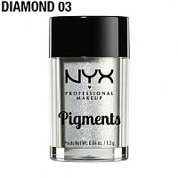 Пигмент NYX Pigments Diamond 03