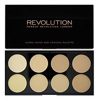 Палетка консилеров Makeup Revolution Ultra Cover and Conceal Palette - Light