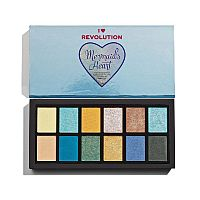 Палетка теней Makeup Revolution Mermaids Heart