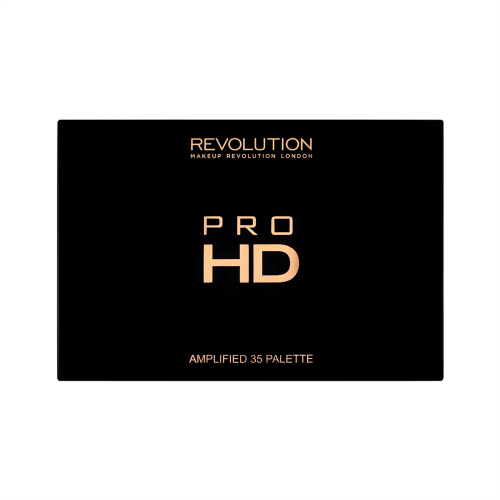 Палетка теней Makeup Revolution Pro HD Palette Amplified 35 - Commitment фото 3