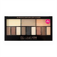 Палетка теней Makeup Revolution Ultra Eye Contour - Light and Shade