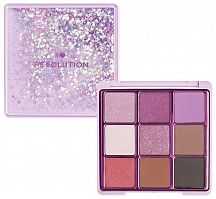 Палетка теней Makeup Revolution Fortune Seeker Glitter