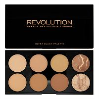 Палетка Makeup Revolution Blush Palette - All About Bronze