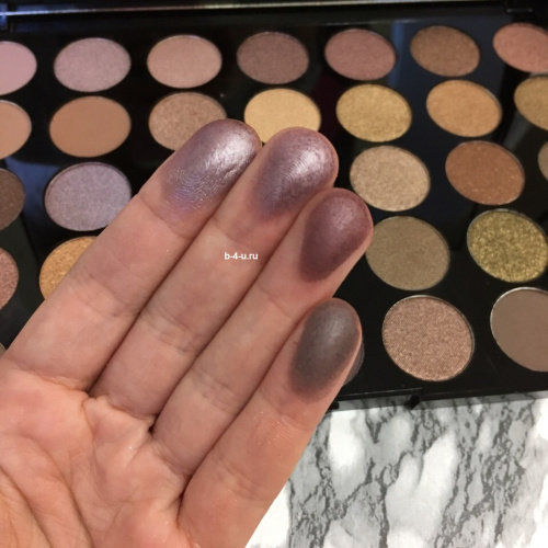 Палетка теней Makeup Revolution Pro HD Palette Amplified 35 - Commitment фото 6
