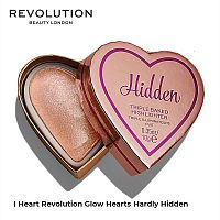 Хайлайтер сердце Revolution Glow Hearts Hardly Hidden