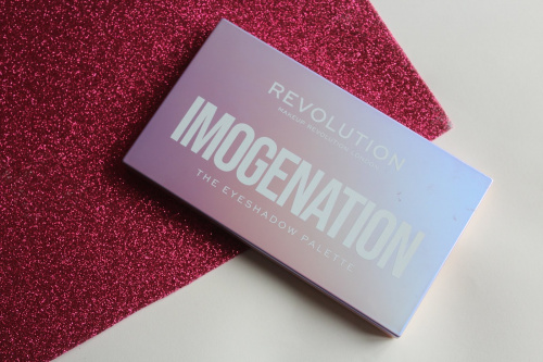 Палетка теней Makeup Revolution X Imogenation The Eyeshadow Palette фото 3