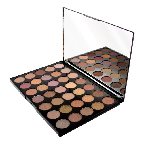 Палетка теней Makeup Revolution Pro HD Palette Amplified 35 - Commitment фото 2