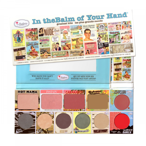 Палетка theBalm Cosmetics - In theBalm of Your Hand