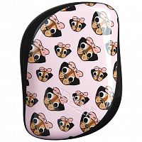 Tangle Teezer Compact - Pug Love