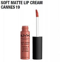 Матовая помада Nyx Soft Matte Lip Cream Cannes