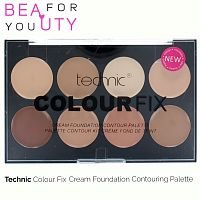 Палетка для контурования Technic Colour Fix Cream Foundation Contouring Palette