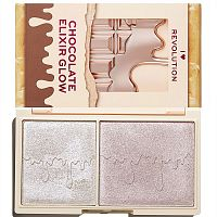 Палетка хайлайтеров Makeup Revolution Elixir Glow Mini Chocolate