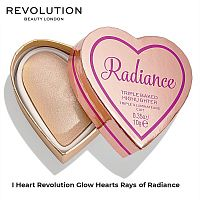 Хайлайтер сердце Revolution Glow Hearts Rays of Radiance