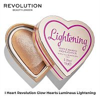 Хайлайтер сердце Revolution Glow Hearts Luminous Lightening