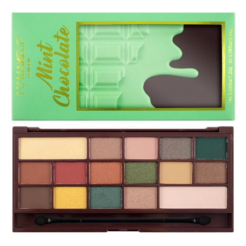 Палетка теней Makeup Revolution I ♡ Chocolate - Mint Chocolate