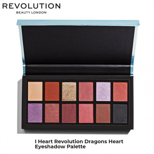 Палетка теней Makeup Revolution Dragons Heart