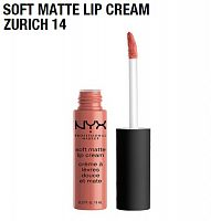 Матовая помада Nyx Soft Matte Lip Cream Zurich