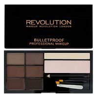 Палетка для бровей Makeup Revolution Ultra Brow - Medium to Dark