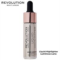 Жидкий хайлайтер Makeup Revolution Liquid Highlighter Luminous Luna