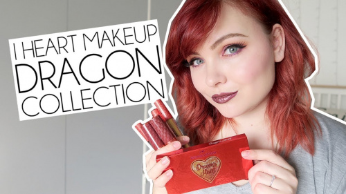 Палетка теней Makeup Revolution Dragons Heart фото 9