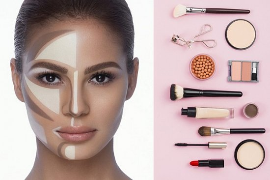 Заказать праймер, консилер, финишная пудра для лица, основа и база под макияж Makeup Revolution, тональный крем REVLON
