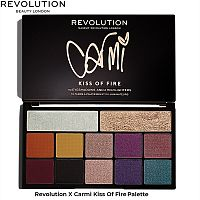 Палетка Makeup Revolution X Carmi Kiss Of Fire