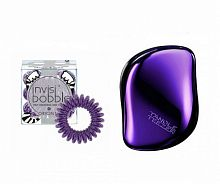 Набор Tangle Teezer & Invisibobble Purple Kit