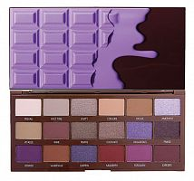 Палетка теней Makeup Revolution Violet Chocolate